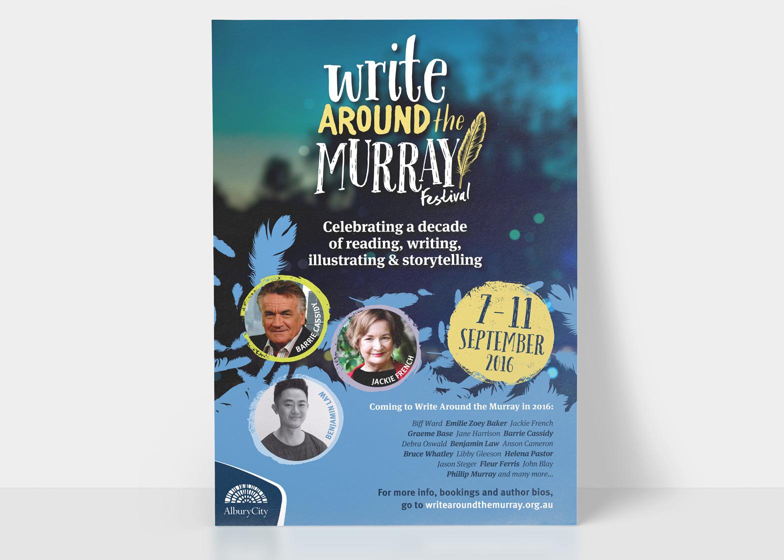 Write around the murray 2016